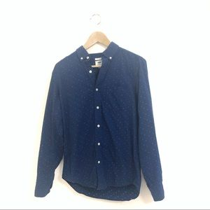 Old Navy Long Sleeves Button Down Slim Fit Shirt
